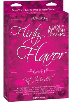 Flirty Flavor Editble Kit For Lovers