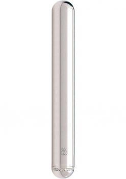 JimmyJane Little Platinum Vibrator Stainless Steel Waterproof 5.25 Inch